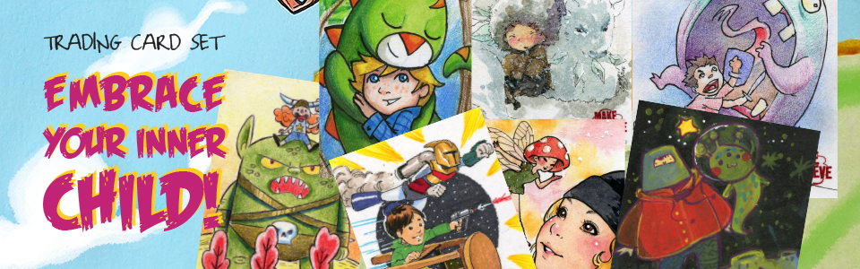 Sketch card examples